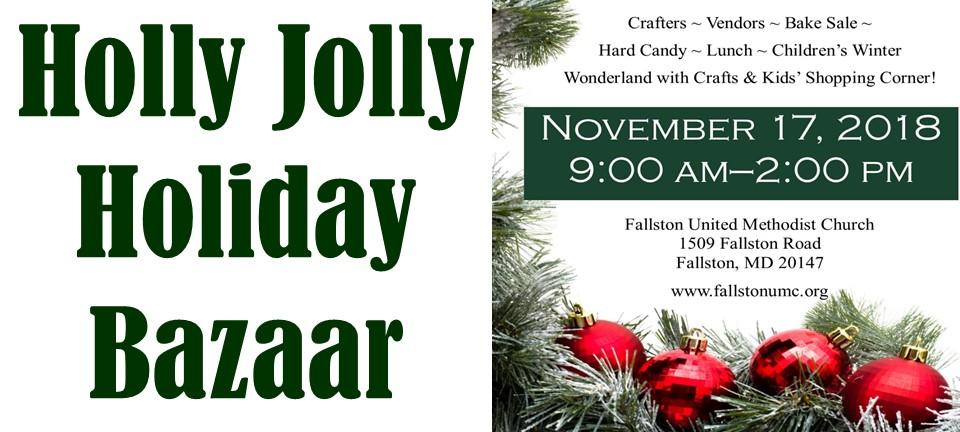 holly jolly christmas bazaar